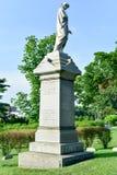 Cementerio de Bosque verde fotografía de archivo