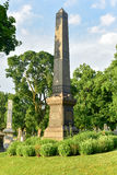 Cementerio de Bosque verde Foto de archivo