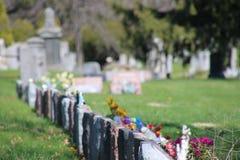 Cementerio de Bosque verde en Brooklyn, NY Fotos de archivo libres de regalías
