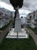 Cementerio de Casares Foto de archivo libre de regalías