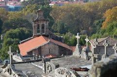 Cementerio de Castrelo foto de archivo libre de regalías