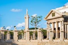 Cementerio de Christopher Columbus en el día hermoso de Havana Cuba fotografía de archivo libre de regalías