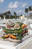 Cementerio de Columbus (Colón) Imagen de archivo libre de regalías