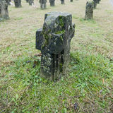 Cementerio de Crespi Imagen de archivo