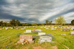 Cementerio de Dripping Springs Imagenes de archivo