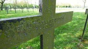 Cementerio de frasnoy, Francia de la guerra fotografía de archivo libre de regalías