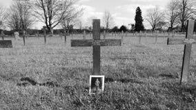 Cementerio de frasnoy, Francia de la guerra foto de archivo
