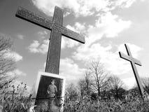 Cementerio de frasnoy, Francia de la guerra imagenes de archivo