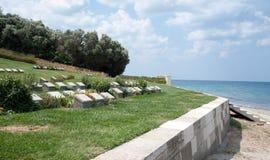 Cementerio 2 de Gallipoli Imagen de archivo libre de regalías