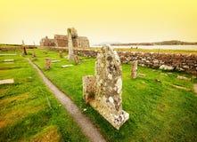Cementerio de Iona, Escocia Fotografía de archivo