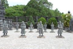 Cementerio de Khai Dinh del emperador Imagen de archivo