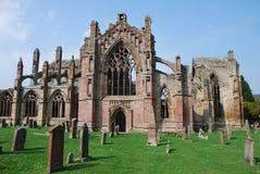 Cementerio de la abadía de la colada Fotos de archivo libres de regalías