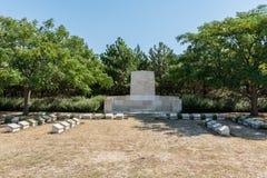 Cementerio de la colina verde en Canakkale, Turquía fotos de archivo