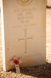 Cementerio de la Commonwealth en el EL Alamein Imágenes de archivo libres de regalías