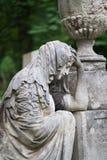 Cementerio de la escultura imagenes de archivo