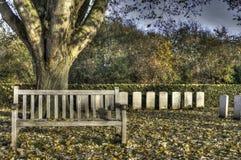 Cementerio de la granja de Essex Foto de archivo libre de regalías