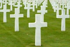 Cementerio de la guerra Foto de archivo libre de regalías