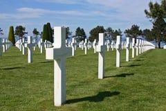 Cementerio de la guerra Imagen de archivo libre de regalías