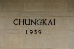 Cementerio de la guerra de Chungkai, en donde entierran a los millares de POWs aliado que murieron en la Tailandia notoria al fer imagenes de archivo
