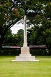 Cementerio de la guerra de Kanchanaburi Fotos de archivo libres de regalías