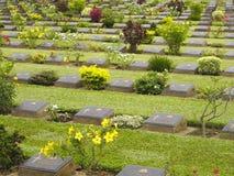 Cementerio de la guerra mundial 2 fotografía de archivo