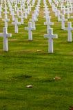 Cementerio de la Guerra Mundial del americano Segundo Fotografía de archivo libre de regalías
