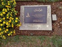 Cementerio de la guerra mundial, Kohima, Nagaland fotos de archivo libres de regalías