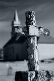 Cementerio de la iglesia fotografía de archivo