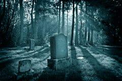 Cementerio de la isla Fotos de archivo