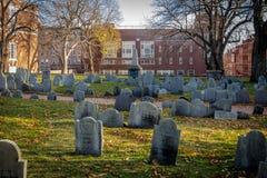 Cementerio de la tierra de entierro de la colina del ` s de Copp - Boston, Massachusetts, los E.E.U.U. imágenes de archivo libres de regalías