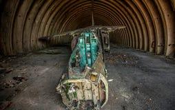 Cementerio de los aviones Foto de archivo libre de regalías