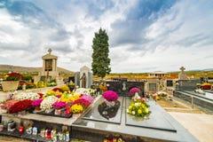 Cementerio de los católicos Fotos de archivo libres de regalías