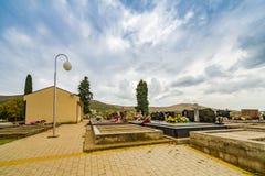 Cementerio de los católicos Foto de archivo libre de regalías