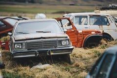 Cementerio de los coches Imagenes de archivo