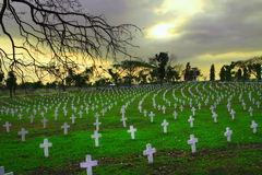 Cementerio de los héroes Foto de archivo libre de regalías