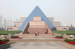 Cementerio de los mártires largos de Hua Imagenes de archivo