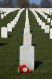 Cementerio de los veteranos, Memorial Day, festividad nacional imagen de archivo