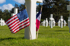 Cementerio de Mémorial Fotografía de archivo