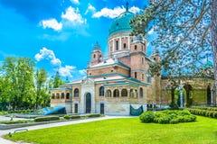 Cementerio de Mirogoj en Zagreb, Croacia Imagen de archivo libre de regalías