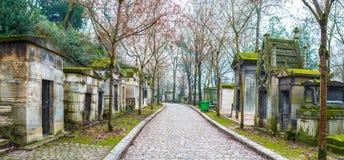 Cementerio de Père Lachaise Imagen de archivo