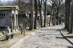 Cementerio de Pere Lachaise Imagenes de archivo
