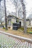 Cementerio de Père Lachaise Fotografía de archivo