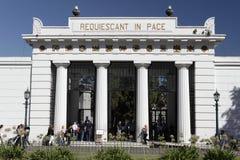 Cementerio de Recoleta - Buenos Aires Imagen de archivo