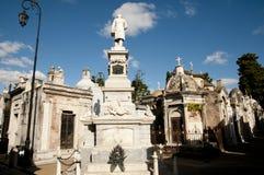 Cementerio de Recoleta - Buenos Aires - la Argentina Imágenes de archivo libres de regalías