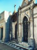 Cementerio de Recoleta Buenos Aires, la Argentina foto de archivo