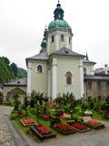 Cementerio de Salzburg fotografía de archivo