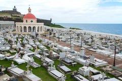 Cementerio de San Juan viejo, Puerto Rico Imagen de archivo