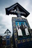 Cementerio de Sapanta Foto de archivo