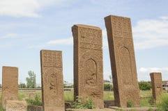Cementerio de Seljuks Foto de archivo