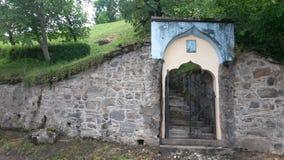 Cementerio de Transylvanian Imagen de archivo libre de regalías